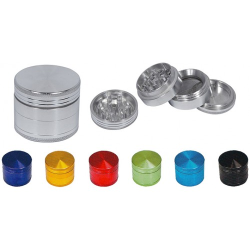 Grinder pollinator 4 parts - 38mm - 7 colors available