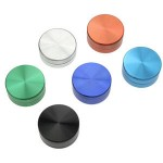 Grinder - Aluminium anodised - available in 6 colours - 2 parts - Ø 50 mm