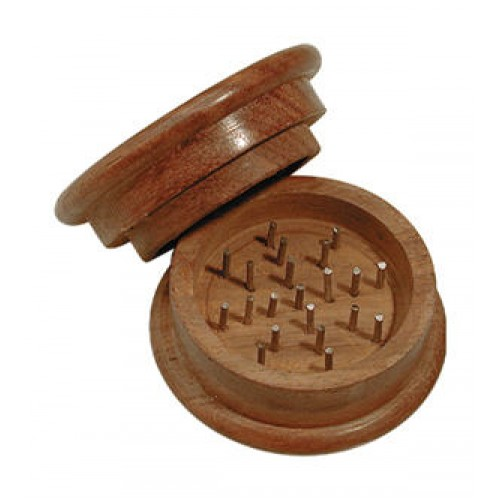 Grinder - wood - basic -  2 parts - Ø 60mm