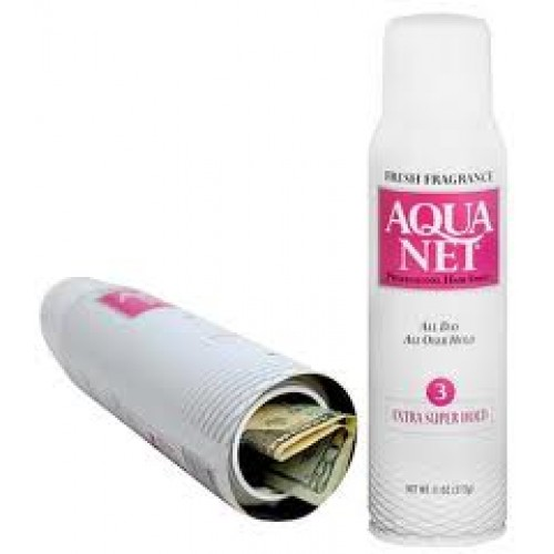 Stash / safe can - Aquanet hairspray - small model