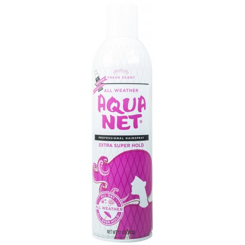 Stash can - Aquanet Hairspray - undercover