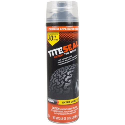 Stash can - instant tire repair